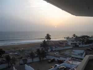 Liberian sunset